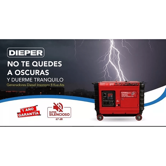 Generador Diesel Súper Silencioso 6 Kw KOOP - Image 2