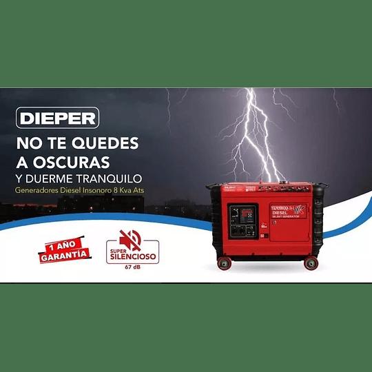 Generador Diesel Súper Silencioso 8 kva 6 Kw KOOP - Image 2