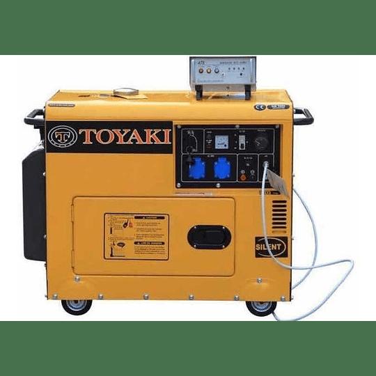 Generador Diesel Insonoro 6.5 kw toyaki 220v - Image 5