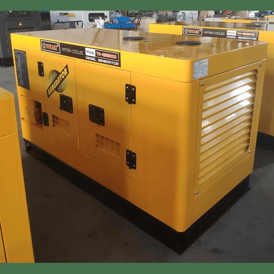 Generador Diesel insonoro 15 kva 12 kw toyaki 220/380 v . - Image 1
