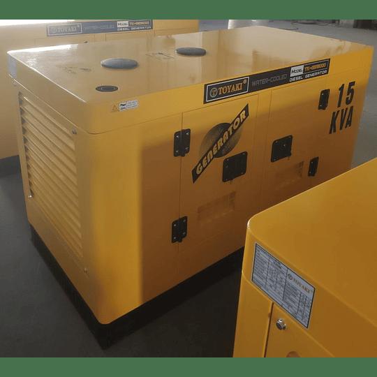 Generador Diesel insonoro 15 kva 12 kw toyaki 220/380 v . - Image 2