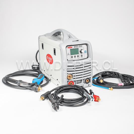 Maquina De Soldar Mig/tig/mma 250amp Kende - Image 3