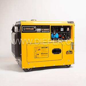 Generador Diesel Insonoro 6.5 kw toyaki 220v