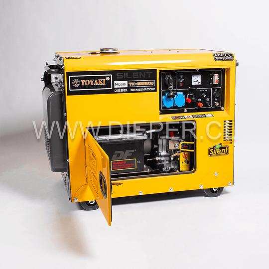 Generador Diesel Insonoro 6.5 kw toyaki 220v - Image 2