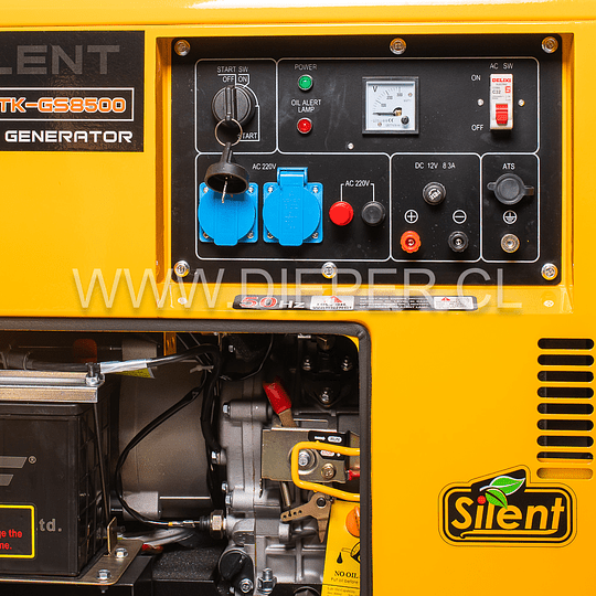 Generador Diesel Insonoro 8 kva  + Tablero Transf. - Image 4