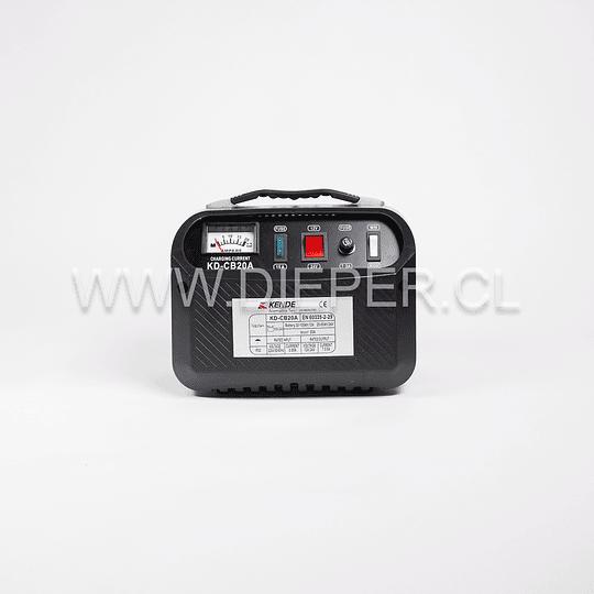 Cargador De Baterías 20 Amp. 12-24v. Kende - Image 2