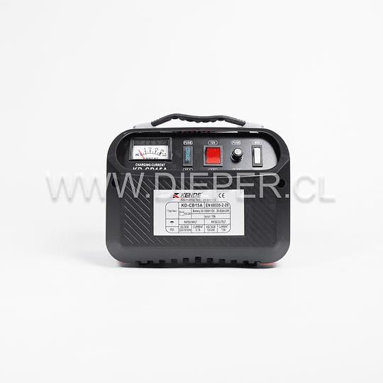 Cargador De Baterías 15 Amp. 12-24v. Kende - Image 2
