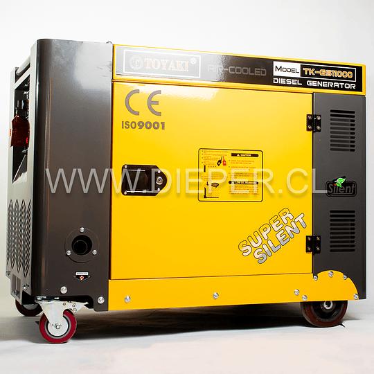 Generador Diesel Insonoro 8 kw Toyaki 220/380v. - Image 1