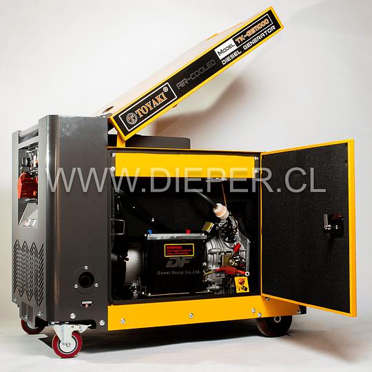 Generador Diesel Insonoro 8 kw Toyaki 220/380v. - Image 2