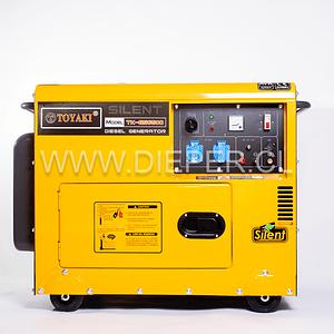Generador Diesel  Insonoro 5.5 kw toyaki 220v