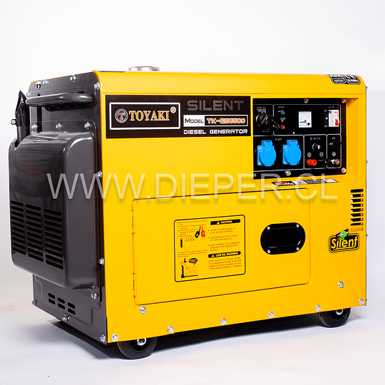 Generador Diesel 5.5 kw TOYAKI Insonoro - Image 2