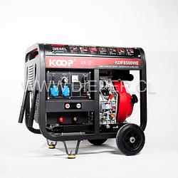 Motosoldador Diesel KOOP 200amp