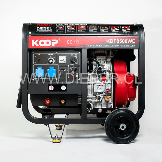 Motosoldador Diesel KOOP 200amp - Image 2