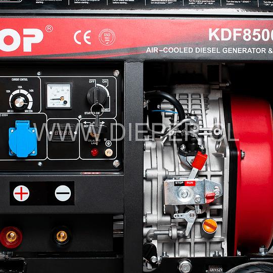 Motosoldador Diesel KOOP 200amp - Image 3