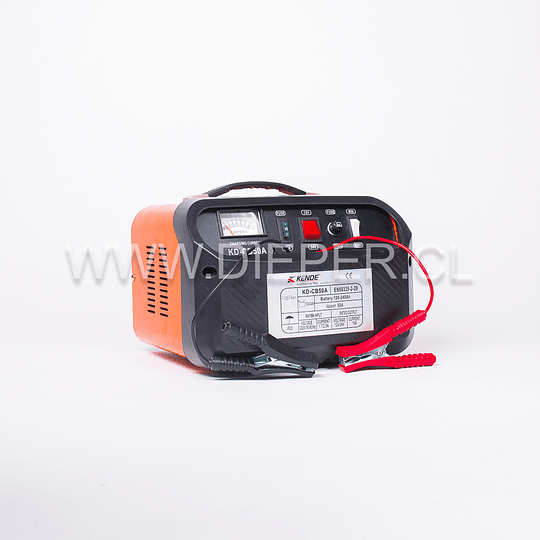 Cargador De Baterías 50 Amp 12 A 24v. KENDE - Image 2