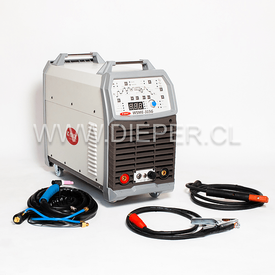 Maquina De Soldar Inverter Ac/dc Tig, Tig Pulsado Wsme-315G - Image 3