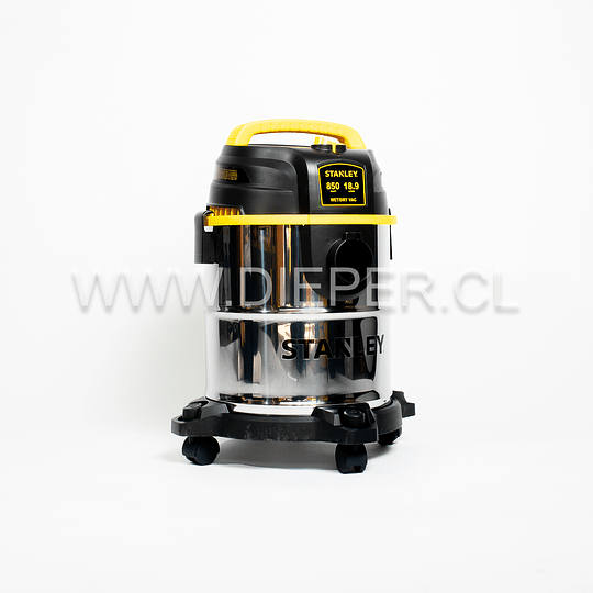 Aspiradora Acero Inox. 18l. 840w. Para Agua Y Polvo Stanley - Image 2