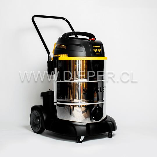 Aspiradora Acero Inox. 60l. 1440w. Para Agua Y Polvo Stanley - Image 2