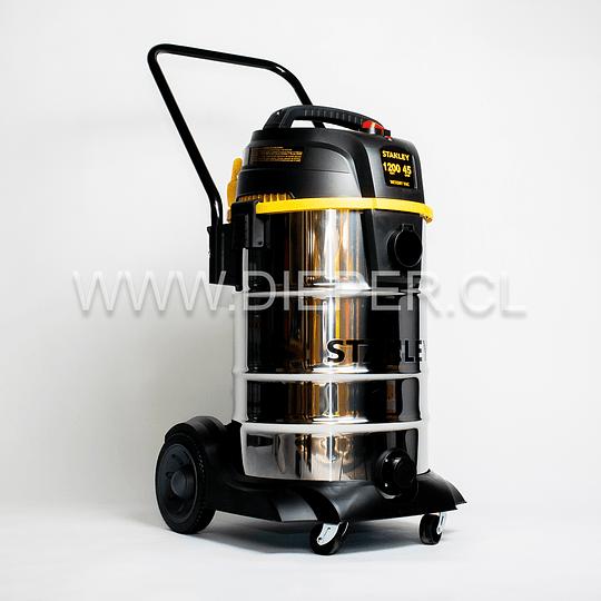 Aspiradora Acero Inox. 45l. 1200w. Para Agua Y Polvo Stanley - Image 2