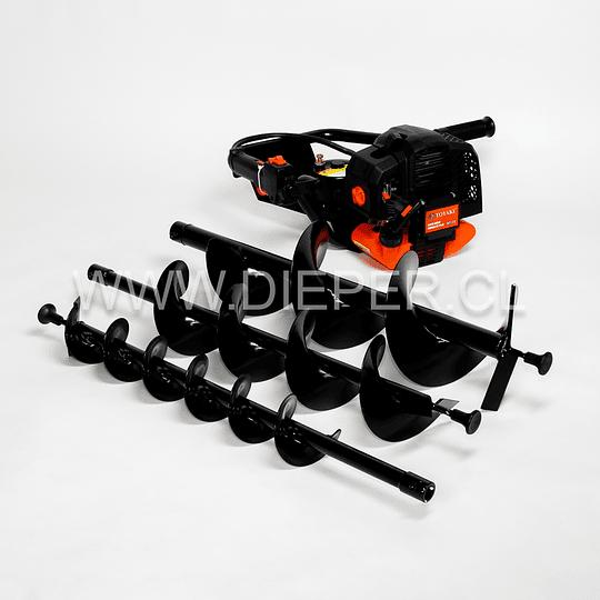 Perforadora / Ahoyador De Tierra Motor 2 Tiempos 52cc - Image 1