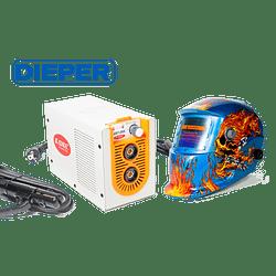 Maquina de Soldar Modelo ZX7-255 con Mascara
