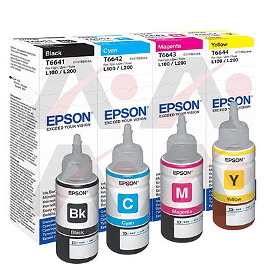 Tinta Original Para Impresora Epson  - Image 1