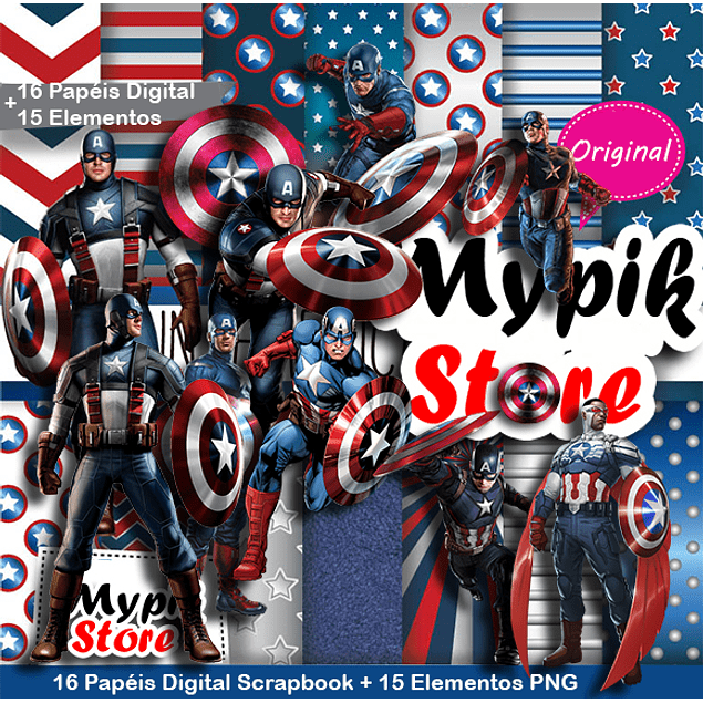 Captain America Digital Kit