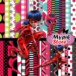Kit digital digital Miraculous Ladybug