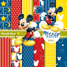 Kit Digital Mickey Mouse