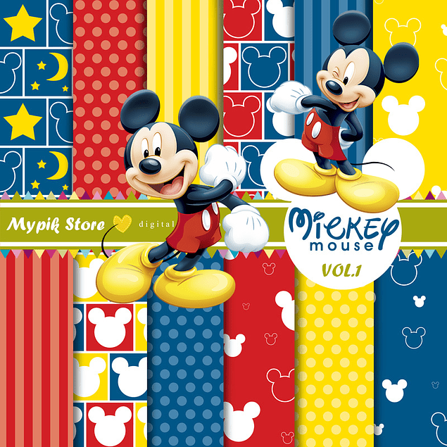 Mickey Mouse Digital Kit