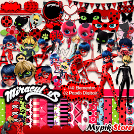Super Kit Digital Miraculous Ladybug