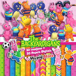 Kit Digital The Backyardigans - Scrapbook