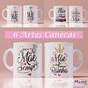 Kit Digital 180 Artes Dia Das Mães para Canecas