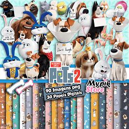 Kit Digital Pets a Vida Secreta dos Bichos 2