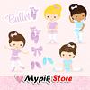 Kit digital princesa bailarina