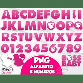 Kit Digital Alfabeto a Poderosa Chefinha Menina Afro Rosa