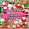 Mega Pacotão Natal com 170 Kits Digitais Imagens e Papeis Digitais