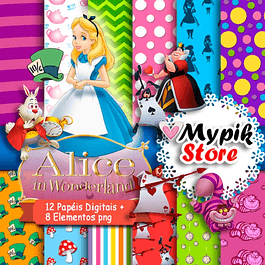 Alice in Wonderland Digital Kit