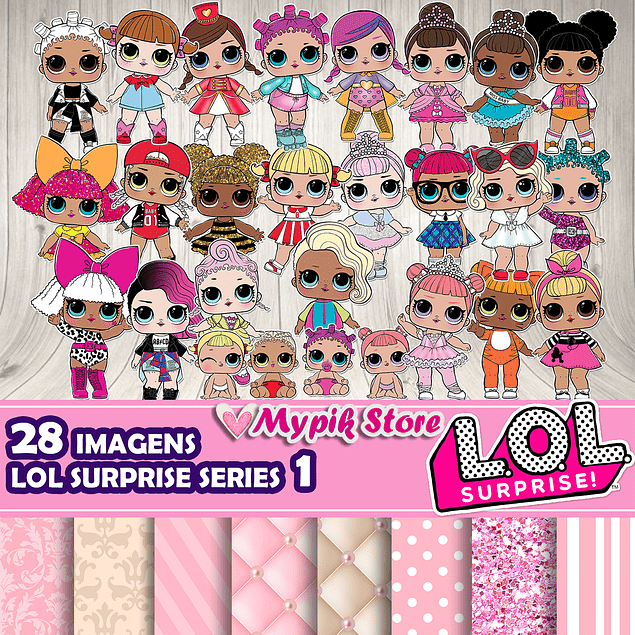 Kit Digital LOL Surprise Series 1