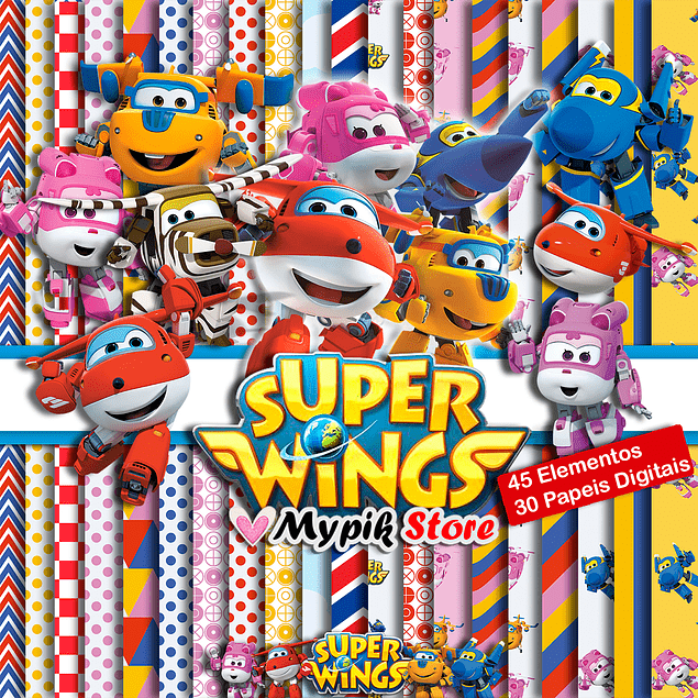 Kit Digital Super Wings