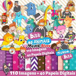 Super World Digital Kit Bita y Bita y los animales