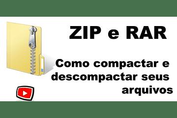 Como Descompactar um Arquivo Zip ou Rar