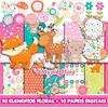 Kit Digital Bosque encantado Floral