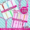 Kit digital sorpresa Super Ziper LOL - Scrapbook