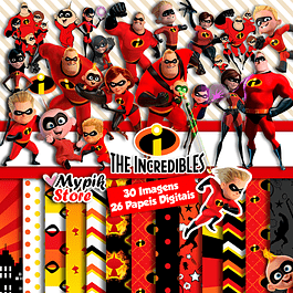 Disney Digital Kit The Incredibles 2 - Imágenes y documentos digitales