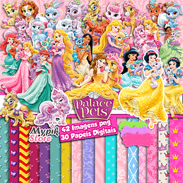 Super Kit Digital Disney Princess Palace Pets