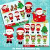 Mega paquete navideño con 170 kits digitales de imágenes digitales y documentos