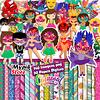 Super Kit Digital Carnaval Imagens e Papeis Digitais