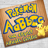 Pokemon Digital PNG Kit Alfabeto Letras y Números clipart
