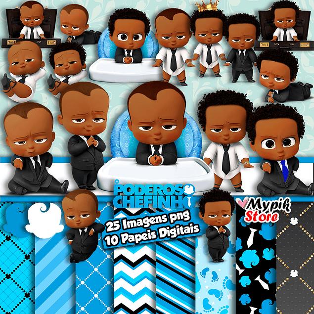 Kit Digital O Poderoso Chefinho Afro